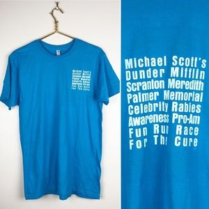 The Office Celebrity Rabies Fun Run T-Shirt